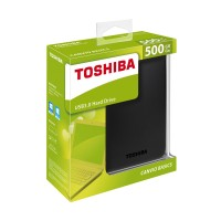 "Toshiba 500GB 2.5"" external hard disk"