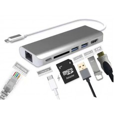 Type-C to HDMI 6 in 1 Adapter
