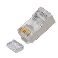 Shielded CAT6 RJ45 connector